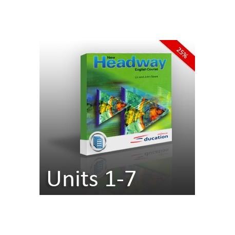 New Headway - Beginners - Unit 01 - 07 - SLEVA
