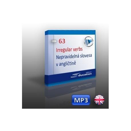 Anglická nepravidelná slovesa - výukový MP3 soubor