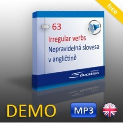 Anglická nepravidelná slovesa - výukový MP3 soubor - DEMO