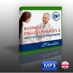 Business English Phrases 1 - Meet Business Partners - ozvučený soubor MP3