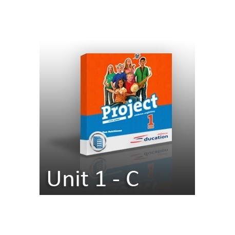Project 1 - Unit 1 -  C