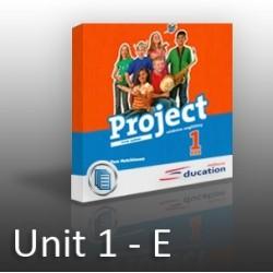Project 1 - Unit 1 -  E