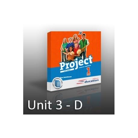 Project 1 - Unit 3 -  D