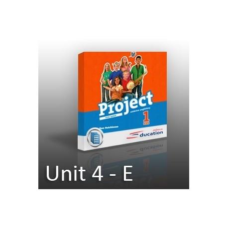 Project 1 - Unit 4 - E