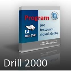 DRILL - program na testování slovní zásoby - na flash disku/zaslání poštou