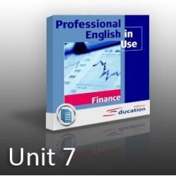 PEIU - Finance - Unit 07