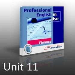 PEIU - Finance - Unit 11